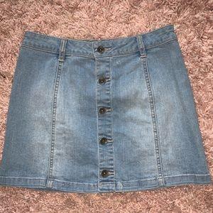 Vans A-line Denim Skirt